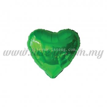 5inch Foil Balloon Love - Green (FB-5-LVGN)