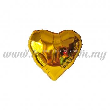 5inch Foil Balloon Love - Gold (FB-5-LVGO)