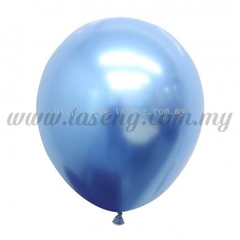 12inch Chrome Balloon 50pcs - Blue (B-12CR-B)