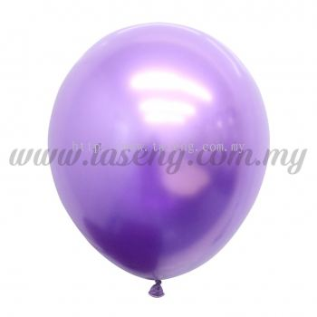 12inch Chrome Balloon 50pcs - Purple (B-12CR-PP)
