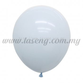 12inch Macaron Balloon 100pcs - Baby Blue (B-12MC-BB)