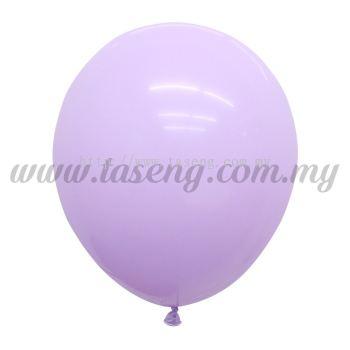 12inch Macaron Balloon 100pcs - Lavender (B-12MC-LV)