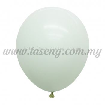 12inch Macaron Balloon 100pcs - Mint Green (B-12MC-MG)