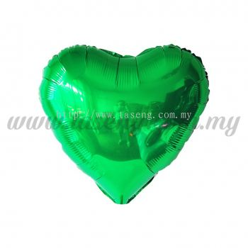 10inch Foil Balloon Love - Green (FB-10-LVGN)