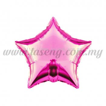 Foil Balloon Star - Pink (FB-10-STP)