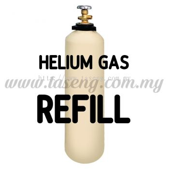 REFILLED 10L Helium Balloon Gas Cylinder
