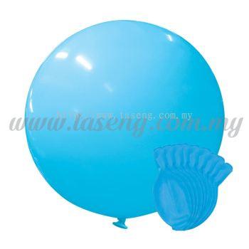 36inch Standard Round Balloon - Light Blue 10pcs (B-36SR-ST9)