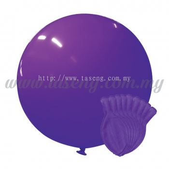 36inch Standard Round Balloon - Lavender 10pcs (B-36SR-ST10)