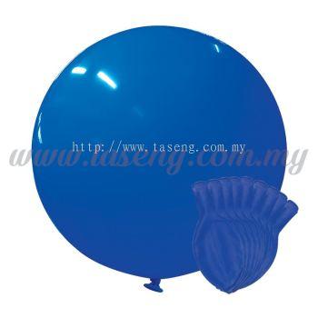 36inch Standard Round Balloon - Blue 10pcs (B-36SR-ST2)