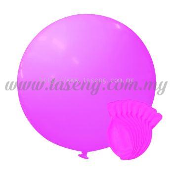 36inch Standard Round Balloon - Pink 10pcs (B-36SR-ST3)