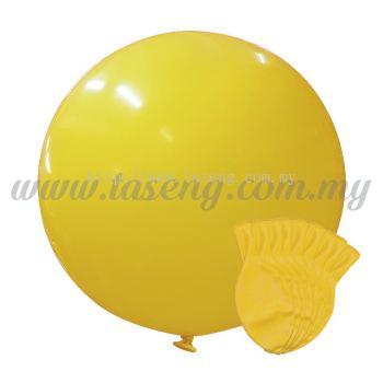 36inch Standard Round Balloon - Yellow 10pcs (B-36SR-ST4)
