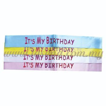 Sash - IT'S MY BIRTHDAY (P-AC-SAIMB)