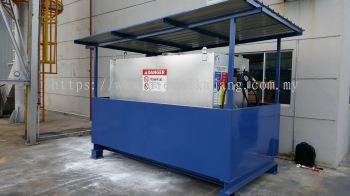 Industrial Diesel Skid Tank Design For Forklift 3600Liters