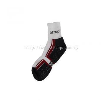 ATTOP JOGGING ANTI SLIP SOCKS (AS 1801)