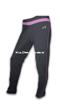 ATTOP YOGA PANT ATS 816 BLACK/PURPLE