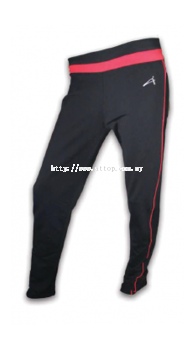 ATTOP YOGA PANT ATS 816 BLACK/RED