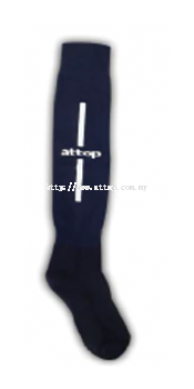 ATTOP SOCCER SOCKS AS 09 NAVY/WHITE
