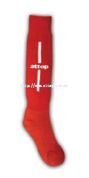 ATTOP SOCCER SOCKS AS 09 RED/WHITE