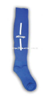 ATTOP SOCCER SOCKS AS 09 ROYAL/WHITE