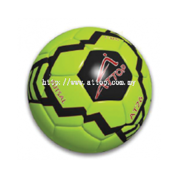 ATTOP FUTSAL BALL AT 26 APPLE GREEN/BLACK