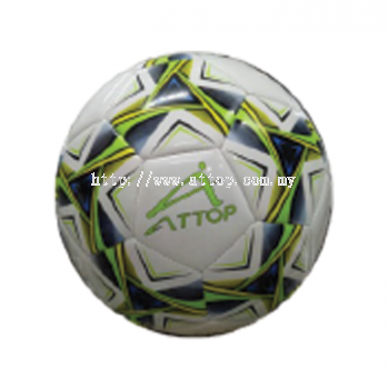 ATTOP SOCCER BALL AT 28 WHITE/GREEN