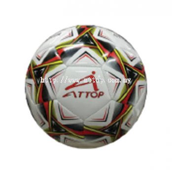 ATTOP SOCCER BALL AT 28 WHITE/RED