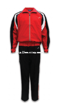 ATTOP TRACKSUIT ATS 132 RED/BLACK