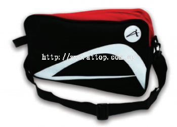ATTOP SHOE BAG AB 115 BLACK/RED