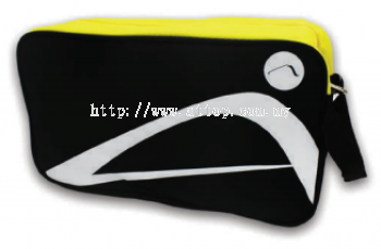 ATTOP SHOE BAG AB 115 BLACK/YELLOW