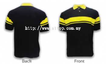 ATTOP COLLAR ADF 1601 BLACK/YELLOW