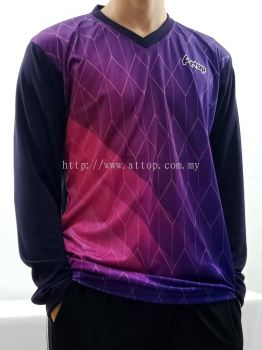 ATTOP LONG SLEEVE JERSEY AJC 1953 PURPLE