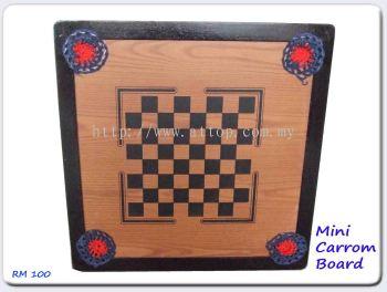 Mini carrrom board