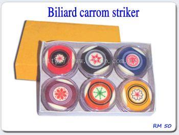 Biliard carrom striker