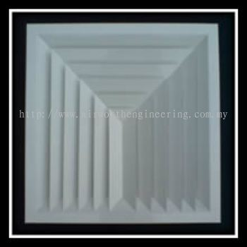 Multi Direction Ceiling Diffuser (3-Way)