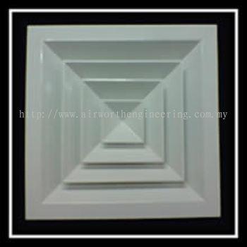 Multi Direction Ceiling Diffuser
