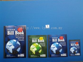BILL BOOK- WITH NUMBERING