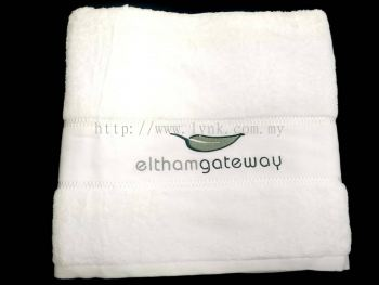 SAMPLE BATH TOWEL WITH EMBROIDERY-VIEW 2