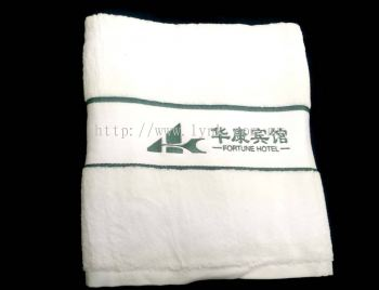 SAMPLE BATH TOWEL WITH EMBROIDERY-VIEW 3