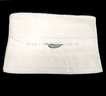 SAMPLE HAND TOWEL WITH EMBROIDERY-VIEW 2