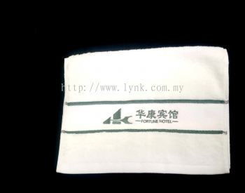 SAMPLE HAND TOWEL WITH EMBROIDERY-VIEW 3