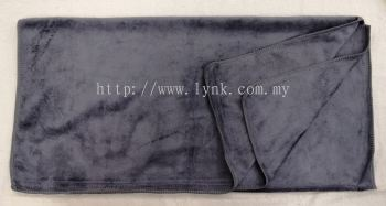 "TOWEL - MICROFIBER 24""X48"" - GREY"