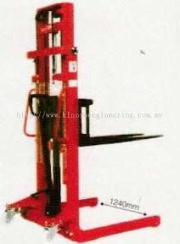Model MSS Series - Manual Straddle-leg Stacker