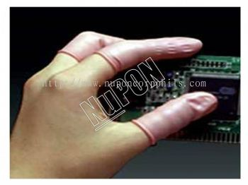 Antistatic Pink Fingercots
