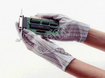 ESD Polyester Gloves