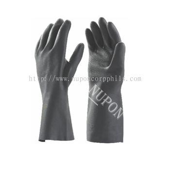 Black Chemical Gloves