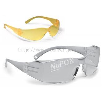 Starlite Safety Eyewear/Clear Indoor & Outdoor Silver Mirror Lens