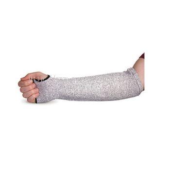 GREY CUT RESISTANT ARM SLEEVE