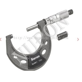 STARRETT T444.1XRL-2 Outside Micrometer