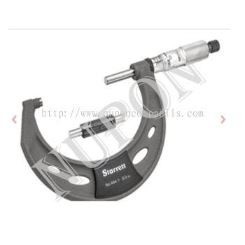 STARRETT T444.1XRL-3 Outside Micrometer