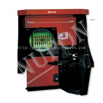 HS600 Horizontal Floor Standing Side Bed Optical Comparator